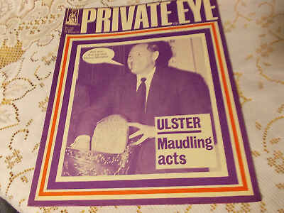PRIVATE EYE MAGAZINE..No.242.FRIDAY 26th MARCH 1971..ULSTER MAUDLING ACTS..