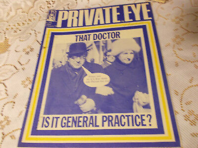 PRIVATE EYE MAGAZINE..No.241.FRIDAY 12th MARCH 1971..THAT DOCTOR.