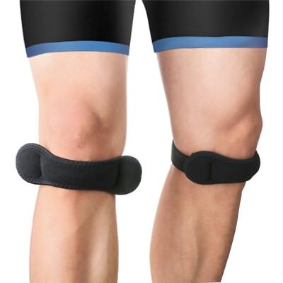 Adjustable Breathable Runners Knee Strap Support Band Patella Tendonitis Brace