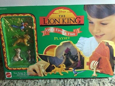 LOT of Vintage Disney's The Lion King NIB (new in box) Action Figure Playsets,3+