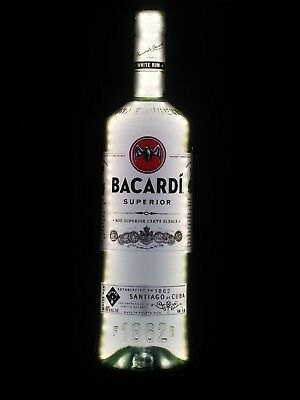 Bacardi Superior lighted sign