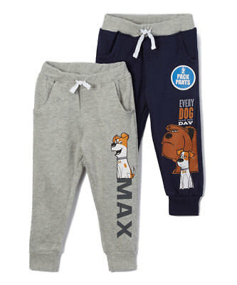 Jogger Pants Toddler Boys Fleece Sweatpants 2 Piece Set Elastic Waist 2t 3t 4t