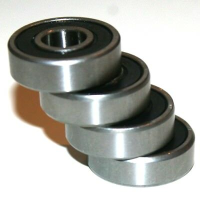 4 Pack!  Replacement Upgraded Bearings For Bugaboo Cameleon Rear / Back Wheels