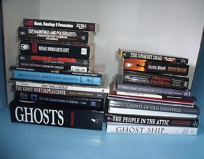 Lot 22 Ghosts And Hauntings Paranormal*ghost Hunting A Practical Guide