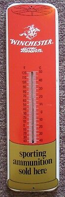 Winchester Western Decorative Thermometer. Sporting Ammunition