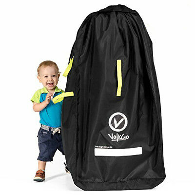 New VolkGo DURABLE Stroller Bag for Airplane Standard Double/Dual Stroller #155