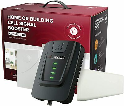 NEW weBoost Wilson Connect 4G LTE 470103 Cell Phone Signal Booster 5000 sq ft