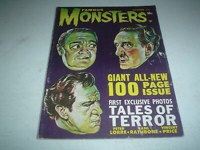 FAMOUS MONSTERS 19 Scarce Early Issue