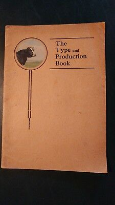 1926 Holstein World - Holstein-Friesian Type & Production History Book (Rare)