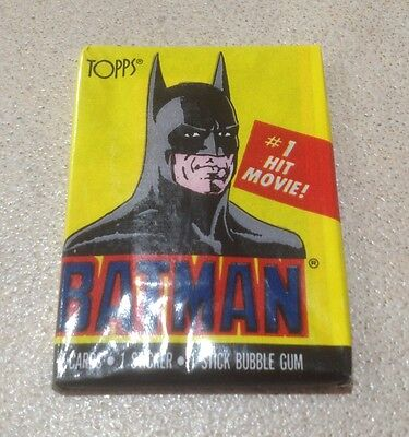 1989 Topps Batman (The Movie) Series 1 - Wax Pack (Batman Variation)