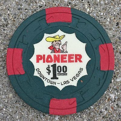 Pioneer Club Hotel And Casino $1 Chip Cheque Downtown Las Vegas Nv Vic