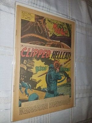 Our Army At War #76 - DC 1958 - Joe Kubert coverless- Silver Age!!!