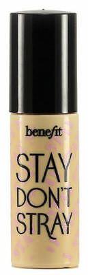 Benefit STAY DON'T STRAY Stay Put Eyeshadow PRIMER 2.5ml TRAVEL SIZE Light/Med