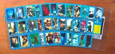 1982 Topps E.T. The Extra Terrestrial Trading Cards - Complete Set (87)