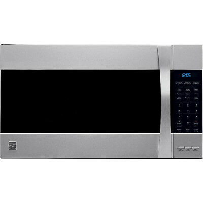 Kenmore Elite 80373 1.8 cu. ft. Over-the-Range Convection Microwave - Stainless