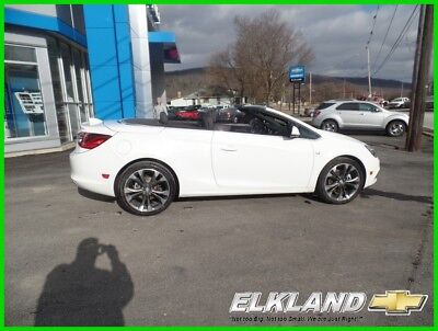 Buick Cascada Premium pkg Convertible only 10000 miles GM Company Car w/only 10k Miles  Leather  Heated Seats  Rear Camera  WHITE