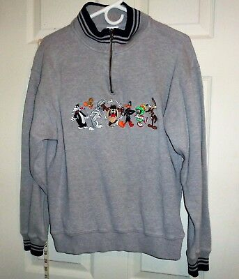 Warner Brother Studio Store Pullover Sweater 1998 Adult Small