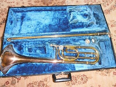 Yamaha YSL-643 II Trombone with F Attachment, free USA shipping!!