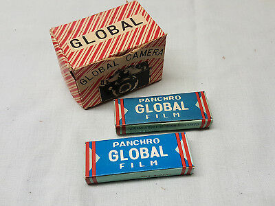 2 Global Spy Camera 16 mm Film Packs Unopened Non Halation Fine Grain High Speed