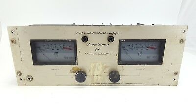 Vintage Phase Linear 400 Power Amplifier AS IS Not Working