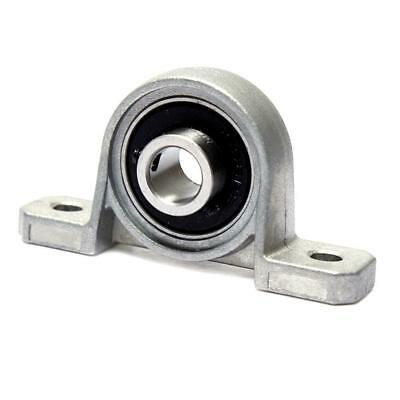 2Pcs Bore Inner Ball Mounted Pillow Block Insert Bearing KP08 Gray 8mm.US