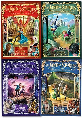The Land of Stories - 4 Paperback Set