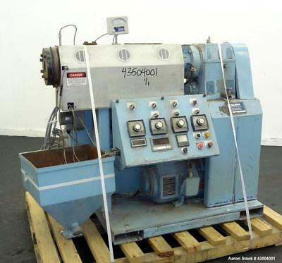 "Used- Killion 1.5"" Single Screw Extruder, Model KN-150. Approximate 24 to 1 L/D"