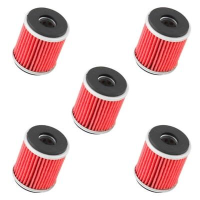 5-pack of K&N oil filter filters for Yamaha WR250F 2003-2014 KN-140 x 5