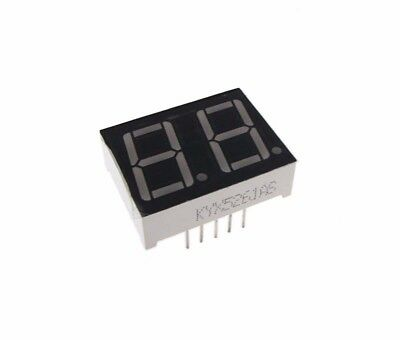 "0.56"" 2 Digit 7-Segment LED Display DIP common cathode - Green"