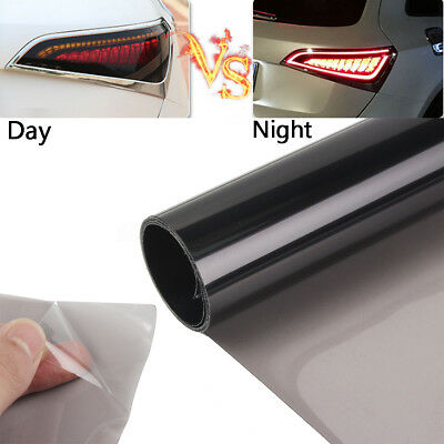 US 12''X48'' 95% Black Window Headlight Taillight Tint  Film Vinyl Wrap Cover