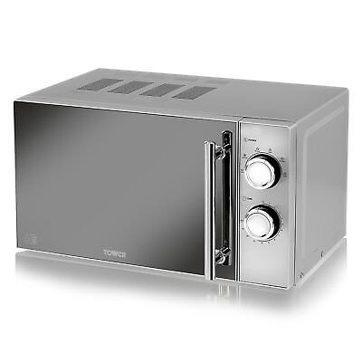 Tower T24015S Microwave 20L 800W Silver 1 Year Guarantee