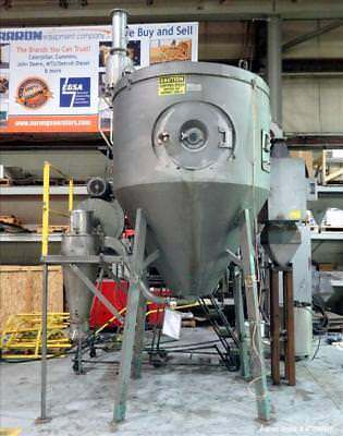 Used- GEA Niro Spray Dryer, Model P-6.3, 316 Stainless Steel. Drying chamber app