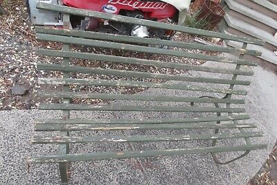 vintage outdoor bench seat
