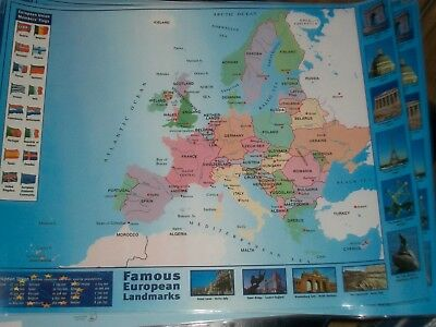 Giant map of europe paper laminated encapsulated poster 26in x 16in giant map of europe paper laminated encapsulated poster 26in x 16in 395 gumiabroncs Images