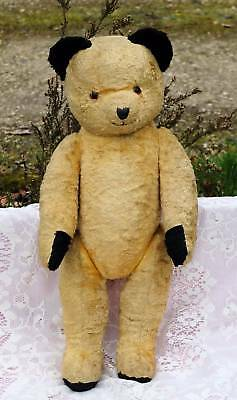 Superb Large Old  'sooty' Type Bear 1960's Lovely Condition For Age