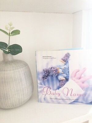 baby names book over 1,000 inspiring names for your new arrival - pregnancy gift