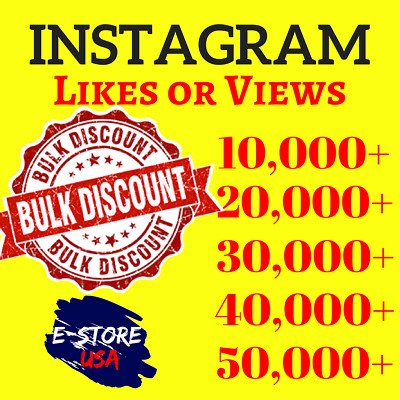 BULK Instagram Likês | Viêws | Super Fast Delivery | Big Savings | SPLITABLE