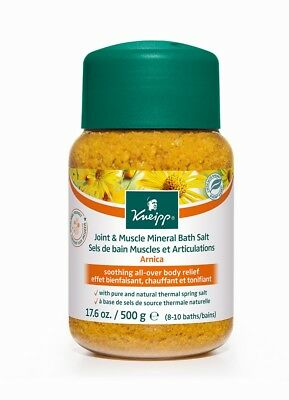 Kneipp Joint & Muscle Mineral Bath Salt 500g - Arnica