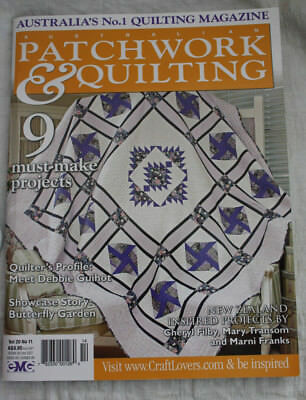 Patchwork & Quilting Magazine Australia's No. 1, Vol 20 No 11 - MINT - 2011
