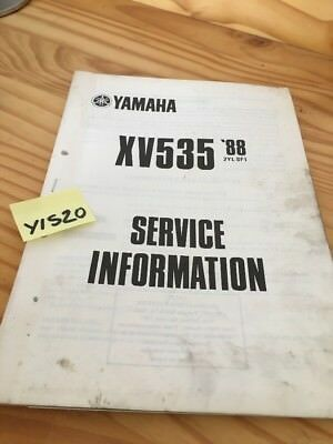 Yamaha XV535 1988 Virago XV 535 service information technique technical data