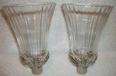 Home Interiors Homco 2 RENNAISANCE Votive Cups Sconce Candle Holders w/grippers
