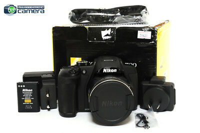 Nikon COOLPIX B700 20.3MP Digital Camera Black 60x Optical Zoom *MINT in Box*