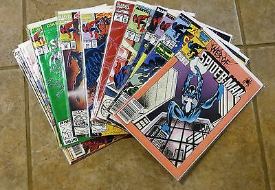 Web of Spider-Man Lot 12 Issues #22-103 Marvel Comics Bagged & Board