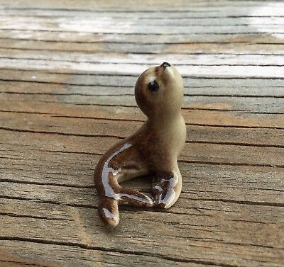 Miniature Vintage Baby Seal Hagen Renaker Animal Figurine