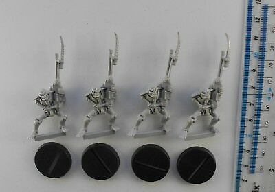 4 SPACE CRUSADE ANDROIDS Plastic Necrons Army Unpainted 40K 47