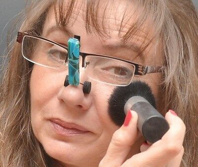 Useful Holiday Gift - Apply Eye Makeup Wearing Your Own Glasses - SpecsUp!