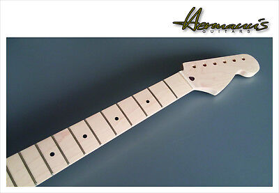Stratocaster One Piece Canadian Maple Neck 21 Jumbo-Frets unfinished