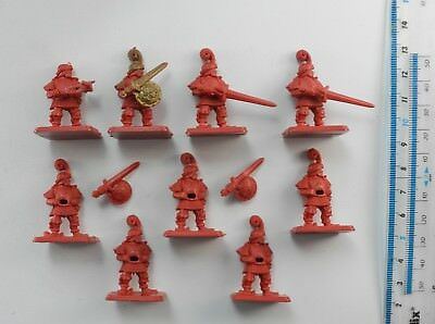 9 HEROQUEST MEN-AT-ARMS (3 incomplete) Plastic Wizards of Morcar Hero Quest 57