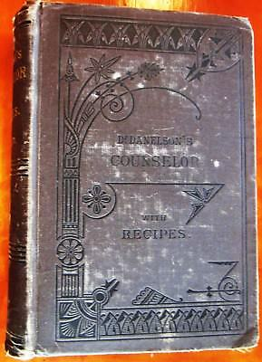 Rare Antique Medical Book Over 100 years Old! Physician Recipes Family Health