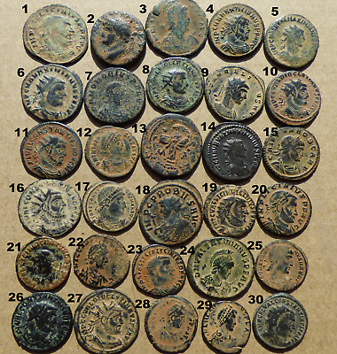 20 Nice Grade Roman Desert Patina Coins - Pick your own!!!! --£10 EACH--Reduced